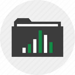 archive, business, folder, save icon