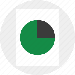 chart, graph, report icon