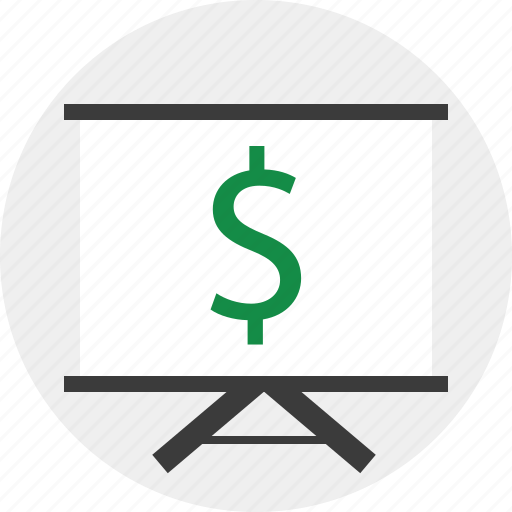 dollar, learn, sign icon