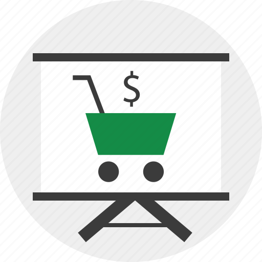 cart, dollar, shopping icon