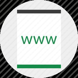 online, visit, website, www icon