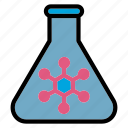 science, chemistry, experiment, flask, lab, research