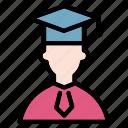 student, graduate, graduation, university