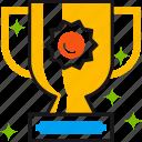 achievement, award, best, cup, success, trophy icon