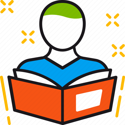 book, knowledge, learning, reading, student, study icon