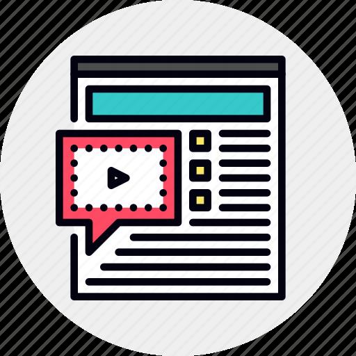 forum, online, seminar, webinar icon