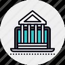 banking, online, university icon