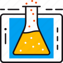app, chemistry, education, learning, science, study, tablet icon