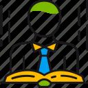 book, education, knowledge, person, read, school, study icon