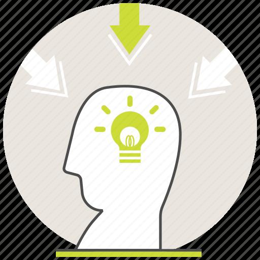 creative, deep, education, idea, learning, online, self icon