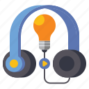 audio, course, media, sound icon