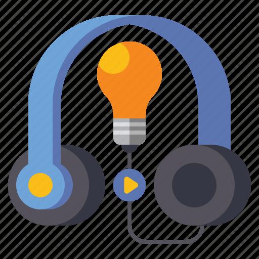 audio, course, media, sound icon