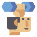 brain, exercise, mind, training icon