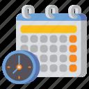 calendar, class, schedule, timetable icon