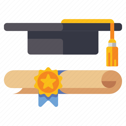 Certificate, degree, graduation, student icon - Download on Iconfinder