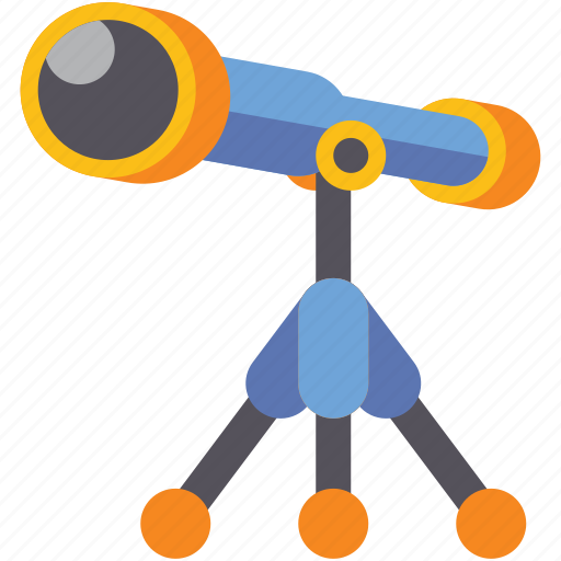 astronomy, discover, star, telescope icon