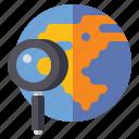 earth, geography, globe, world icon