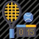 board, score, sports, tennis