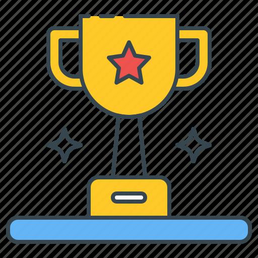 achievement, award, champ, champion, prize, trophy, winner icon