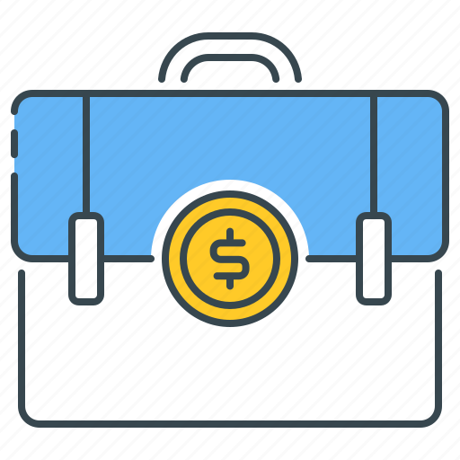 Economic, education, money, economy, briefcase, business, suitcase icon