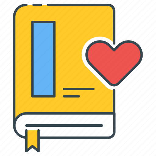 book, favorite, lessons, textbook icon