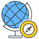 geography, map, globe, global, compass, world, navigation