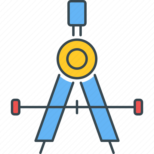 accuracy, accurate, drawing, geometry, precision, tool icon