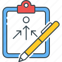 action, aim, goal, objective, plan, planning, strategy icon