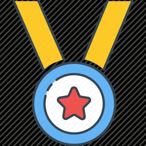 achievement, award, badge, medal, rank, reward, success icon