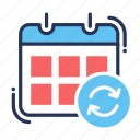appointment, calendar, date, event, month, schedule, timer icon