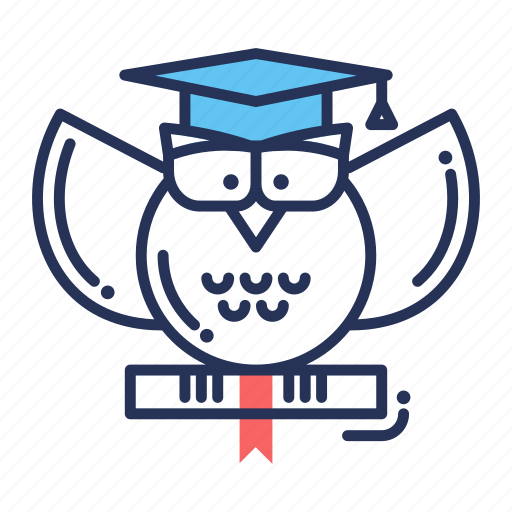 education, graduate, graduation, knowledge, reading, study, wisdom icon