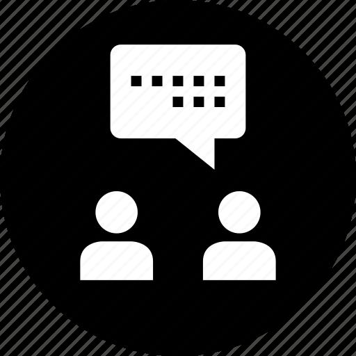 buddies, chat, conversation, friends, internet, online, talk icon