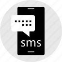 cell, instant, message, messenger, online, text icon