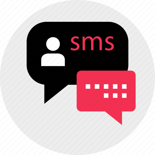 chat, data, download, media, messenger, sms, talk icon