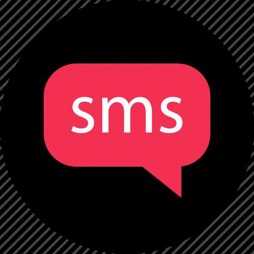 bubble, chat, conversation, messenger, online, sms, web icon