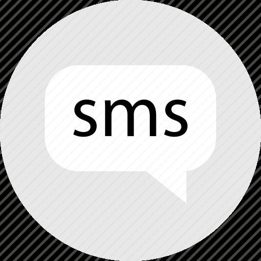 internet, media, messenger, online, sms, text, web icon