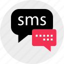 chat, conversation, messenger, online, sms, talk icon
