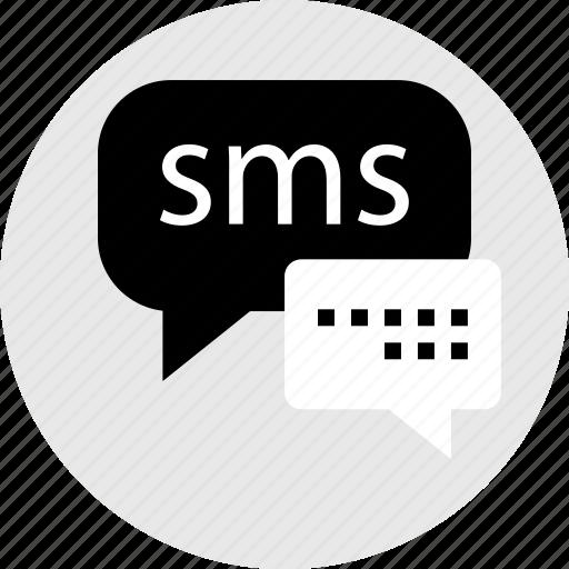 communication, conversation, internet, online, sms, web icon