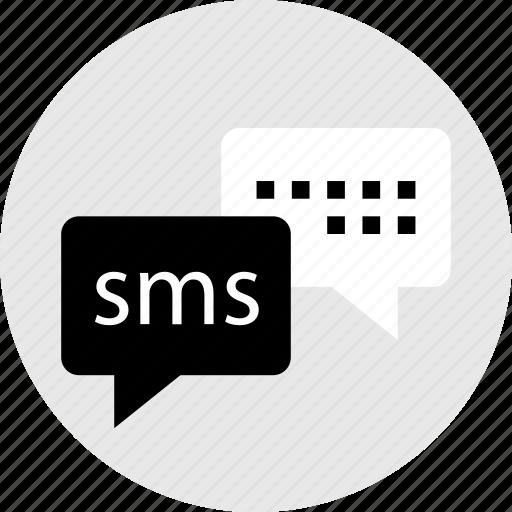 internet, message, messenger, online, sms, web icon