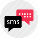 chat, messenger, online, sms, talk, web, whatsapp icon
