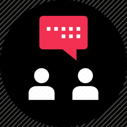 buddies, chat, communication, conversatin, online, talk icon
