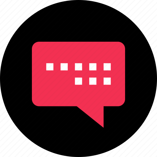 chat, imessage, message, online, sms, talk, web icon
