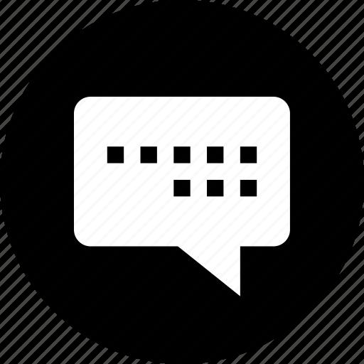communication, conversation, internet, online, talk, web icon