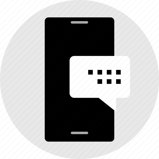 bubble, chat, internet, media, message, online, text icon