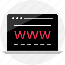 data, internet, online, visit, website, wireframe, www icon