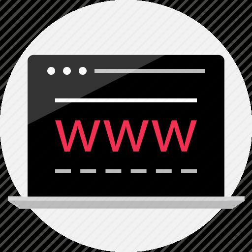 data, internet, online, visit, website, wireframe, www icon