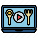 online, learning, education, tutorials icon