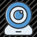 webcam, camera, video, computer, device, cam