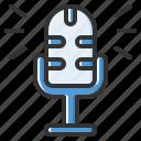 microphone, mic, recording, voice, audio, record, multimedia