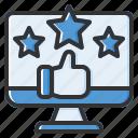 rating, review, feedback, favorite, like, ranking, star